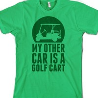 car-Unisex Grass T-Shirt