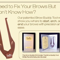 Billion Dollar Brow Buddy Kit, 1 Ounce