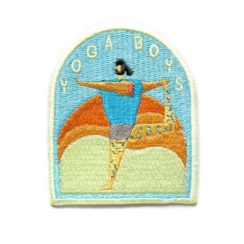 Yoga Boys Patch