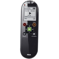 "RCA VR6320 2GB, 800-Hour Digital Voice Recorder with 1.5"" LCD Display & USB Connection"