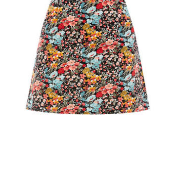 PRINTED CUT ABOVE CORD SKIRT