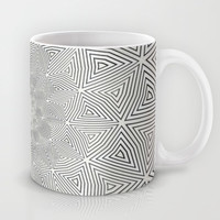 Vibrascreen Mug by Peter Gross
