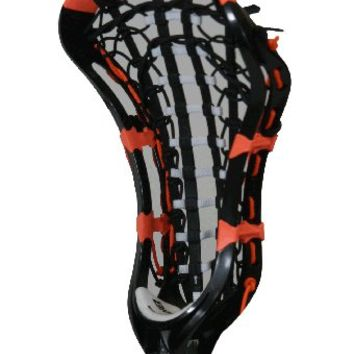 Brine Amonte 2 Womens Lacrosse Head  - Black/Neon Orange