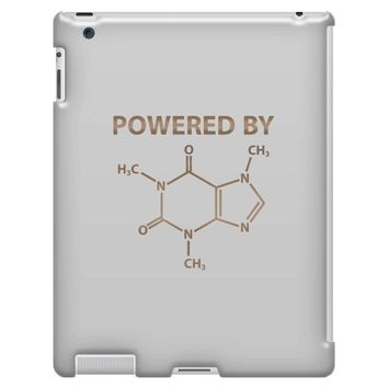Powered By Caffeine Molecule iPad 3 and 4 Case