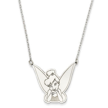 Sterling Silver Disney 18inch Tinker Bell Necklace WD254SS