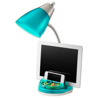 Equip Your Space Tablet Organizer CFL Desk Lamp