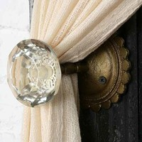 Door Knob Curtain