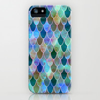 Mermaid iPhone & iPod Case by Schatzi Brown