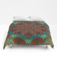 magic mandala 39 #mandala #magic #decor Comforters by jbjart