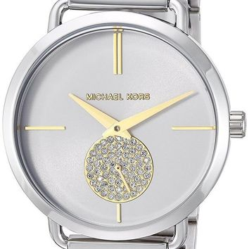 ONETOW Michael Kors Watches Portia Two-Hand Sub-Eye Watch