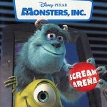 Disney Pixar Monsters, Inc. Scream Arena (Nintendo GameCube, 2002) Complete