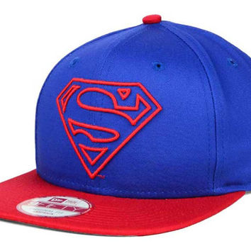 DC Comics Off Liner 9FIFTY Snapback Cap - Superman