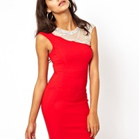 Lipsy Jewelled Detail Cocktail Dress