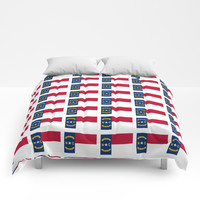 flag of  north carolina 2- south,america,usa,Old North State,Tar Heel,North Carolinian,Charlotte Comforters by oldking
