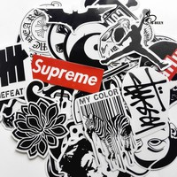 ca spbest 45mixed graffiti supreme street stickers