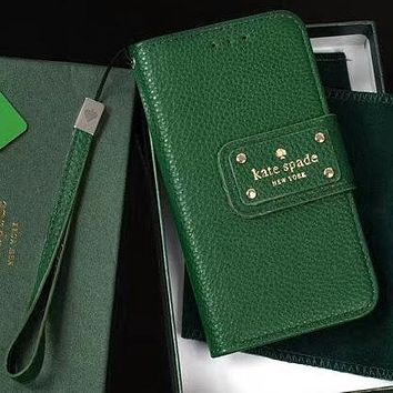 Perfect Kate Spade Phone Cover Case For  iphone 6 6s 6plus 6s-plus 7 7plus 8