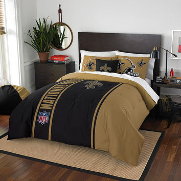 New Orleans Saints NFL Full Comforter Set (Soft & Cozy) (76 x 86)