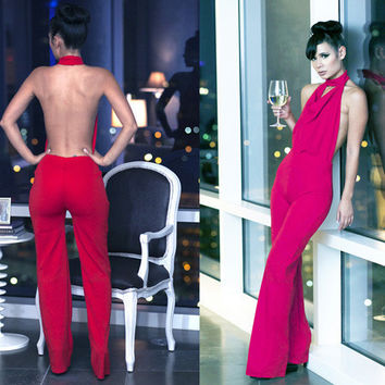 Women's Sexy Jumpsuit Cocktail Party Clubwear = 4427444036