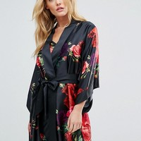 B By Ted Baker Juxtapose Rose Kimono at asos.com