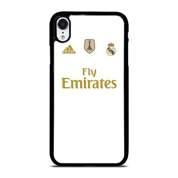 REAL MADRID HOME JERSEY iPhone XR Case