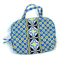 NEW Vera Bradley Riviera Blue  Trave Bag Weekender  FREE SHIPPING!!!!