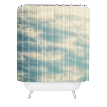 Shannon Clark Peaceful Skies Shower Curtain
