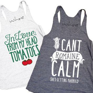 In Love From My Head Tomatoes / I Can't Romaine Calm Tank