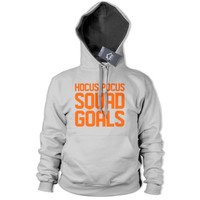 Hocus Pocus Squad Goals Hoodie Street Hipster Halloween Outfit Womens Sweat 413