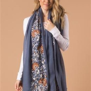 Mum's the Word Wrap Scarf by Simply Noelle