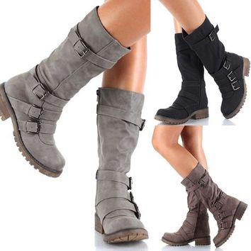 On Sale Hot Deal Winter Hot Sale Stylish Boots [120847761433]