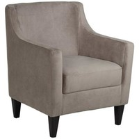 Gavin Latte Accent Chair - #4C426 | LampsPlus.com