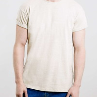 Stone Neppy Roller Fit T-Shirt