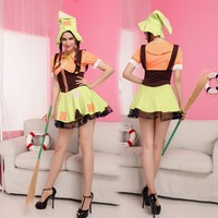 Costumes stage performance clothing Pretty Green Fairy princess dress cosplay [8979044999]