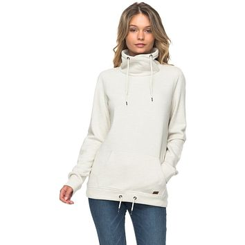 Roxy Sandy Dreams Women's Pullover Sweatshirt - Natural