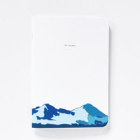 Cascades Pocket Journal with Illustrated Cascade Mountains, Illustrated Pocket Notebook