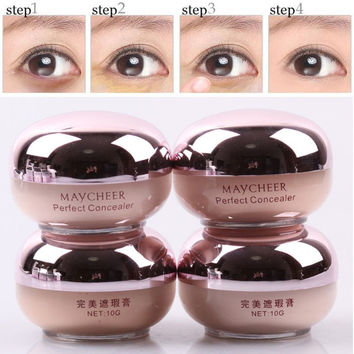 Professional Concealer Camouflage Concealer Cream Scar Dark Circles Eye Bag Remove T05