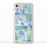 Such a Strange Watercolor Clear iPhone Case by Noonday Design