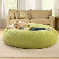 Giant Bean Bag Chairs at Brookstone. Shop Now!