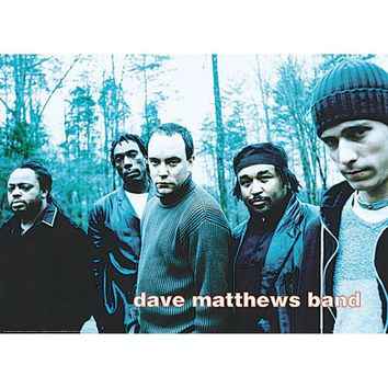 Dave Matthews Band Subway Poster