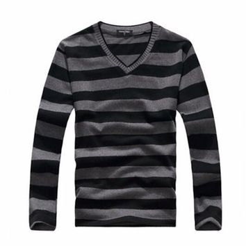 2016 man fake designer brand clothes mens jumper v neck male sweaters polo pullover