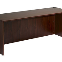 Boss Office Furniture Desk Shell 48X24, Mahogany