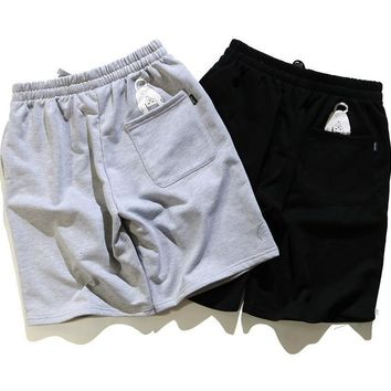 Couple Beach Pants Cotton Casual Shorts [211463700492]