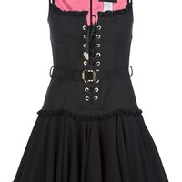 Dsquared2 Tie Pleated Dress