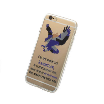 iPhone Hogwarts House Ravenclaw Case
