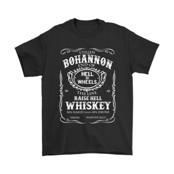 PEAPCV3 Cullen Bohannon Drink Majestically Hell On Wheels Shirts