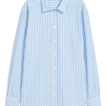 Oversized shirt - Light blue - Ladies | H&M GB