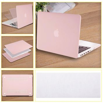 Mosiso for Macbook Air 13 11 A1369 A1466 Rubber Paint Shell Case with silicone keyboard cover Mac Air 13.3 11.6