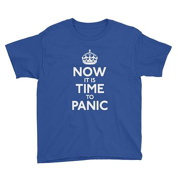Now It Is Time To Panic Youth Short Sleeve T-Shirt