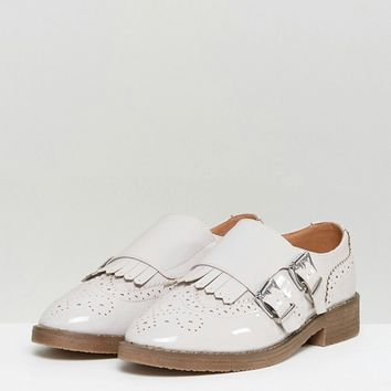 ASOS MASTERMIND Monk Flat Shoes at asos.com