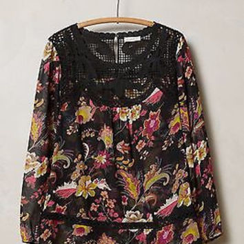NWT Anthropologie Window Garden BlouseSz XS and XL - By Meadow Rue